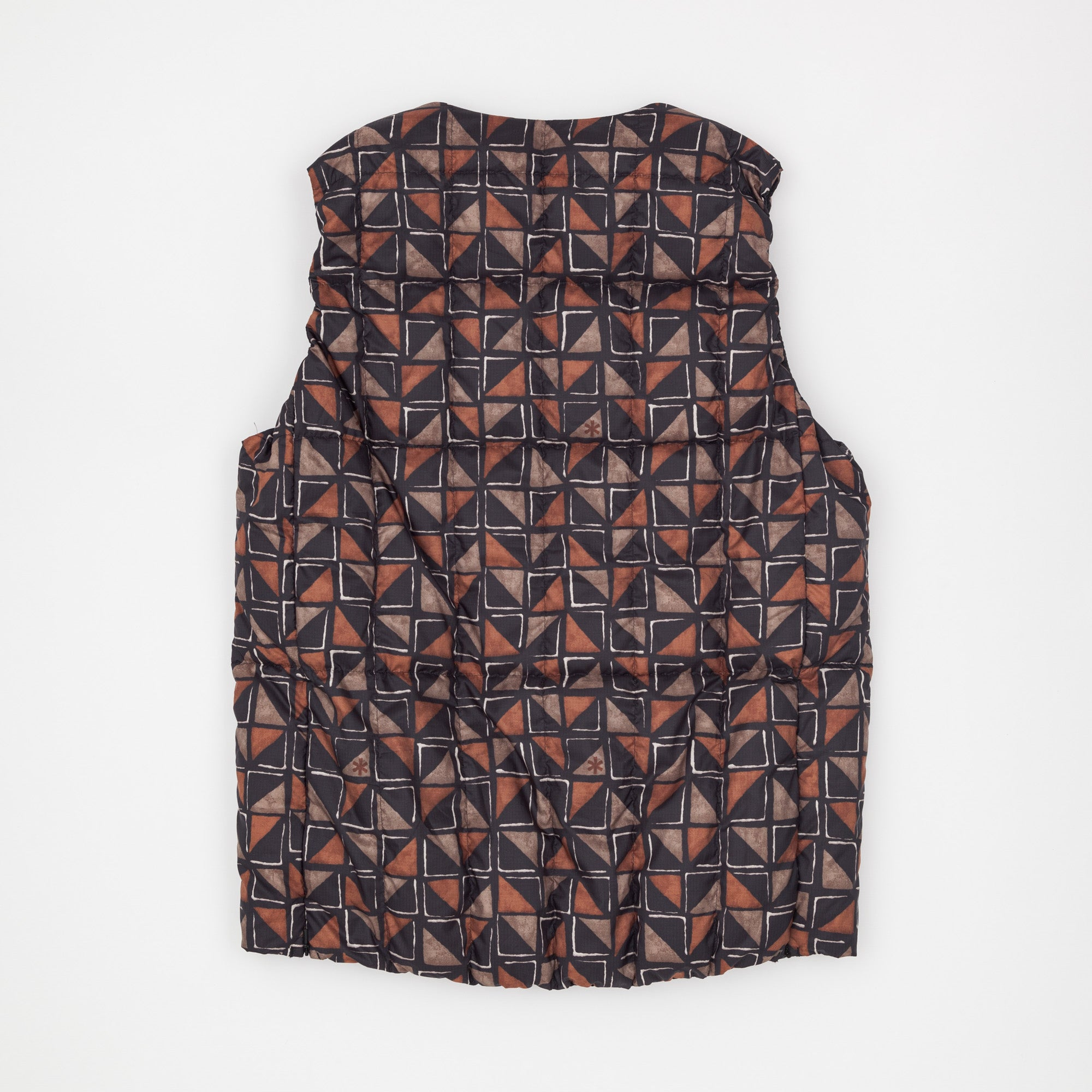 Pattern Insulated Gilet