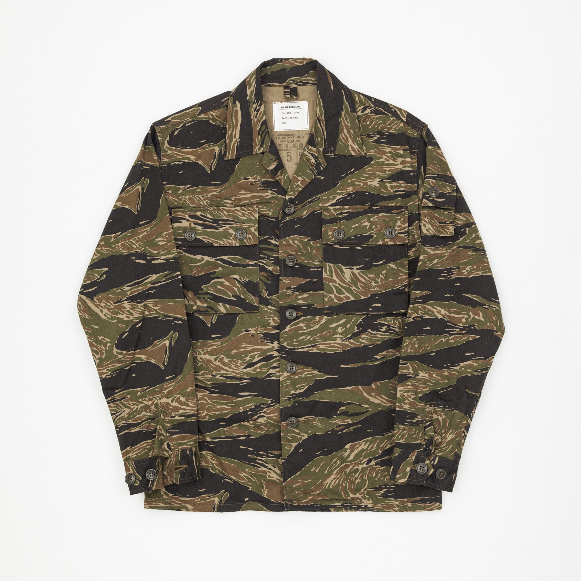 Tiger Camo / John Wayne Military Shirt