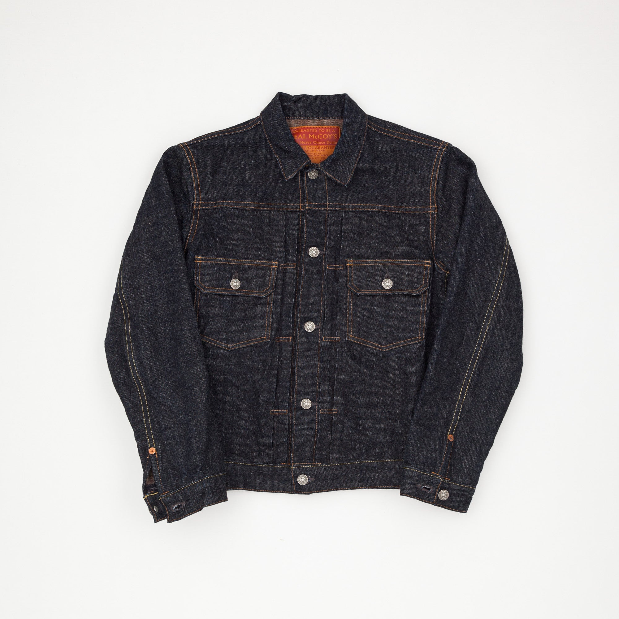 Blanket Lined Lot. 002J Denim Jacket.