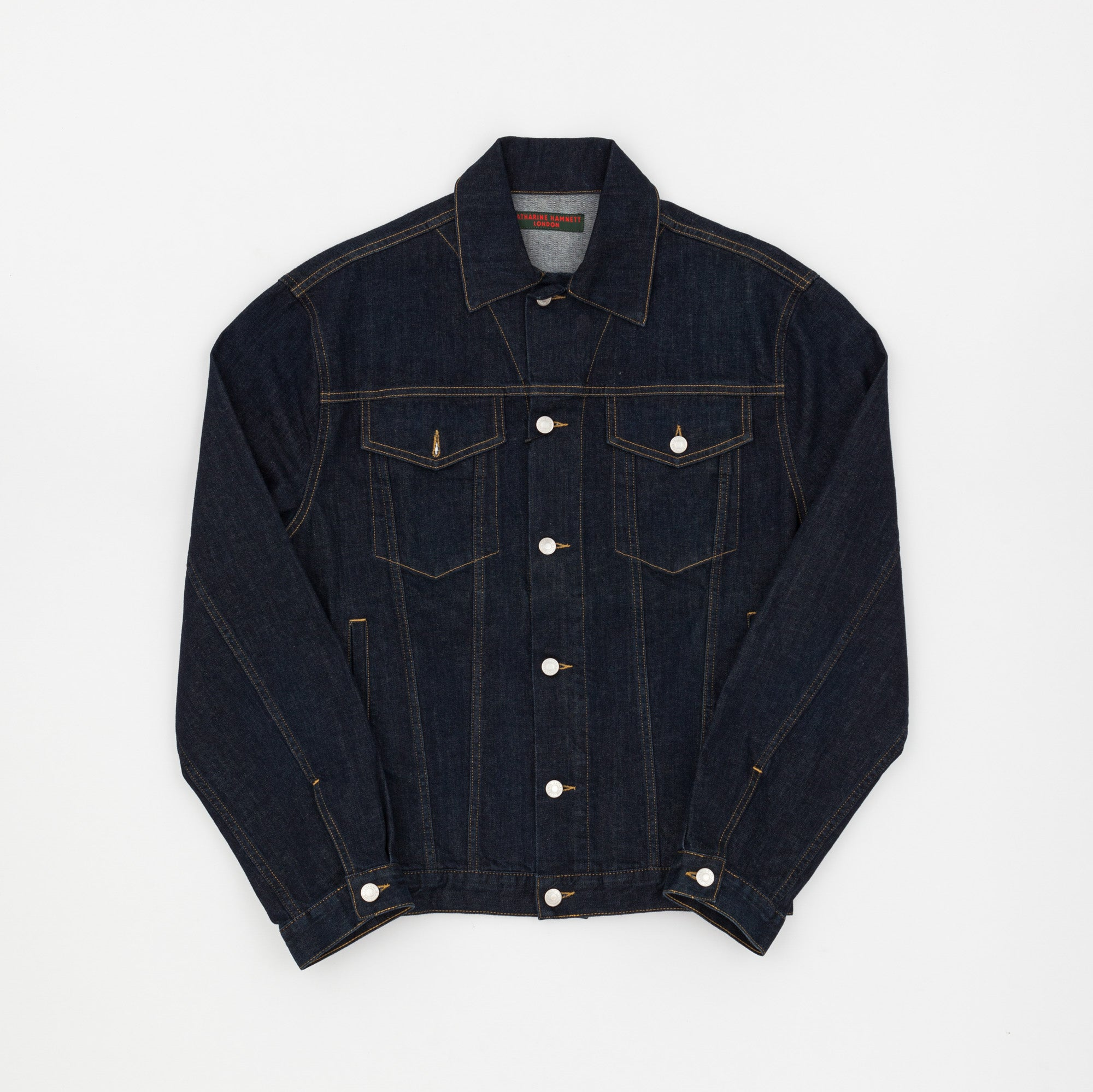 Katherine Hamnett Ted Denim Trucker Jacket