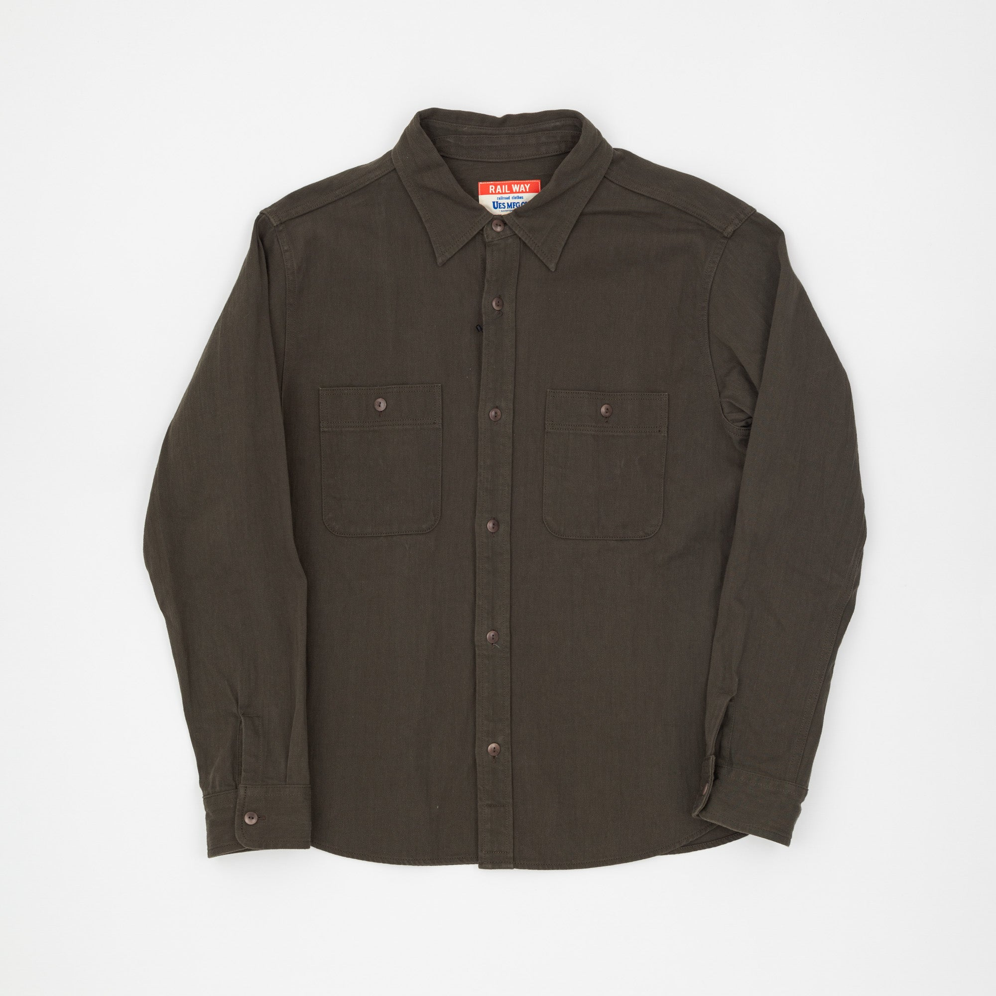 Rail Way Military Shirt