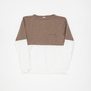 Two Tone Long Sleeve T-Shirt