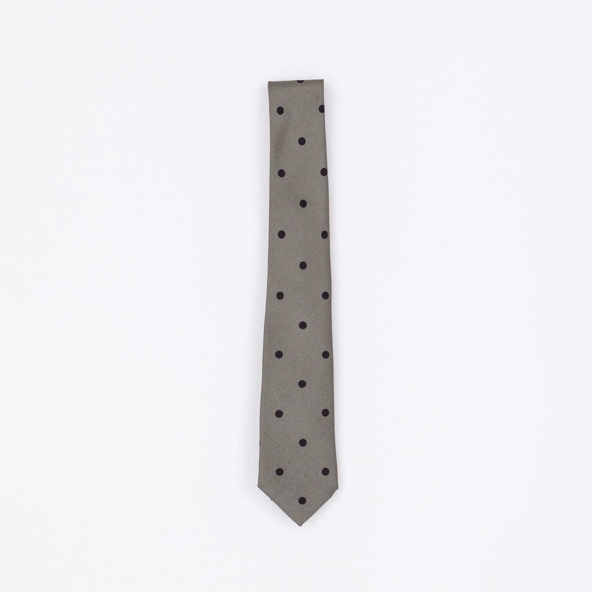 Green Spotted Tie