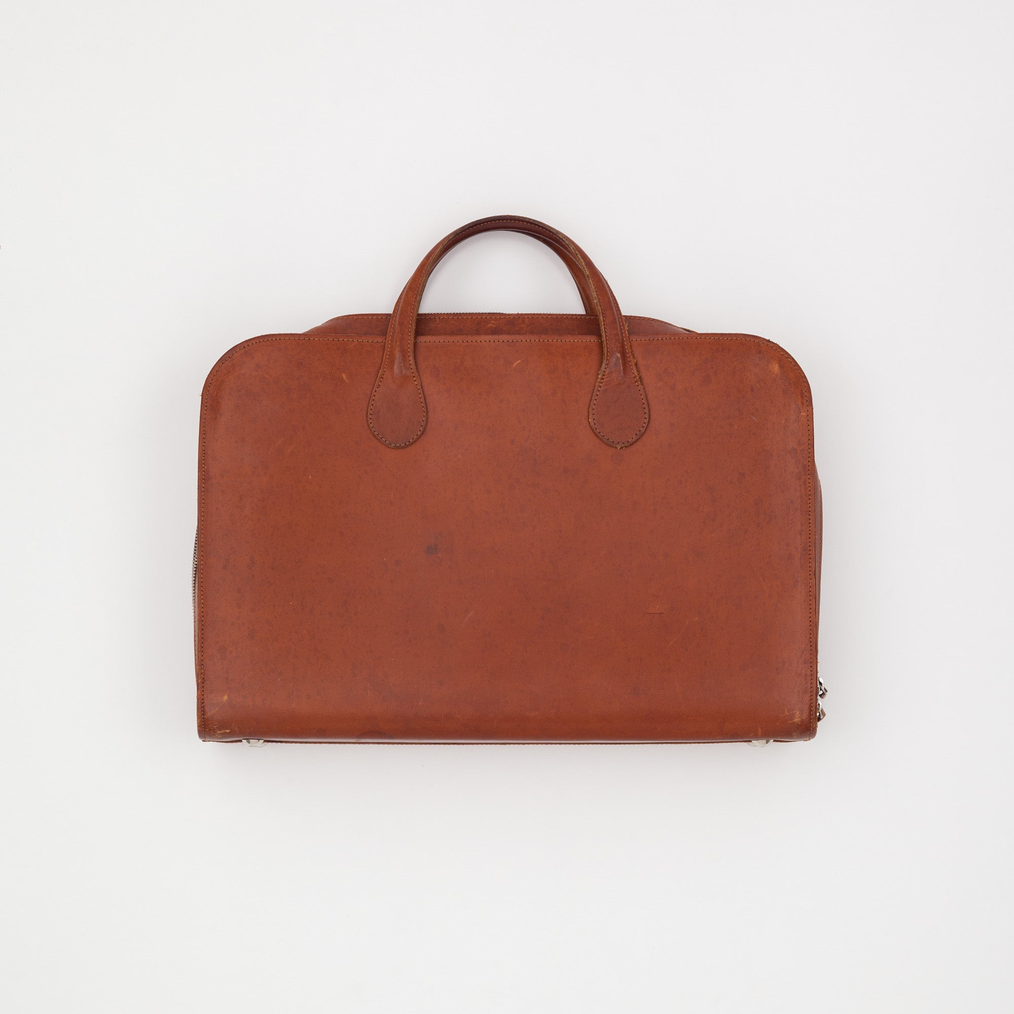 Bill Amberg Leather Briefcase