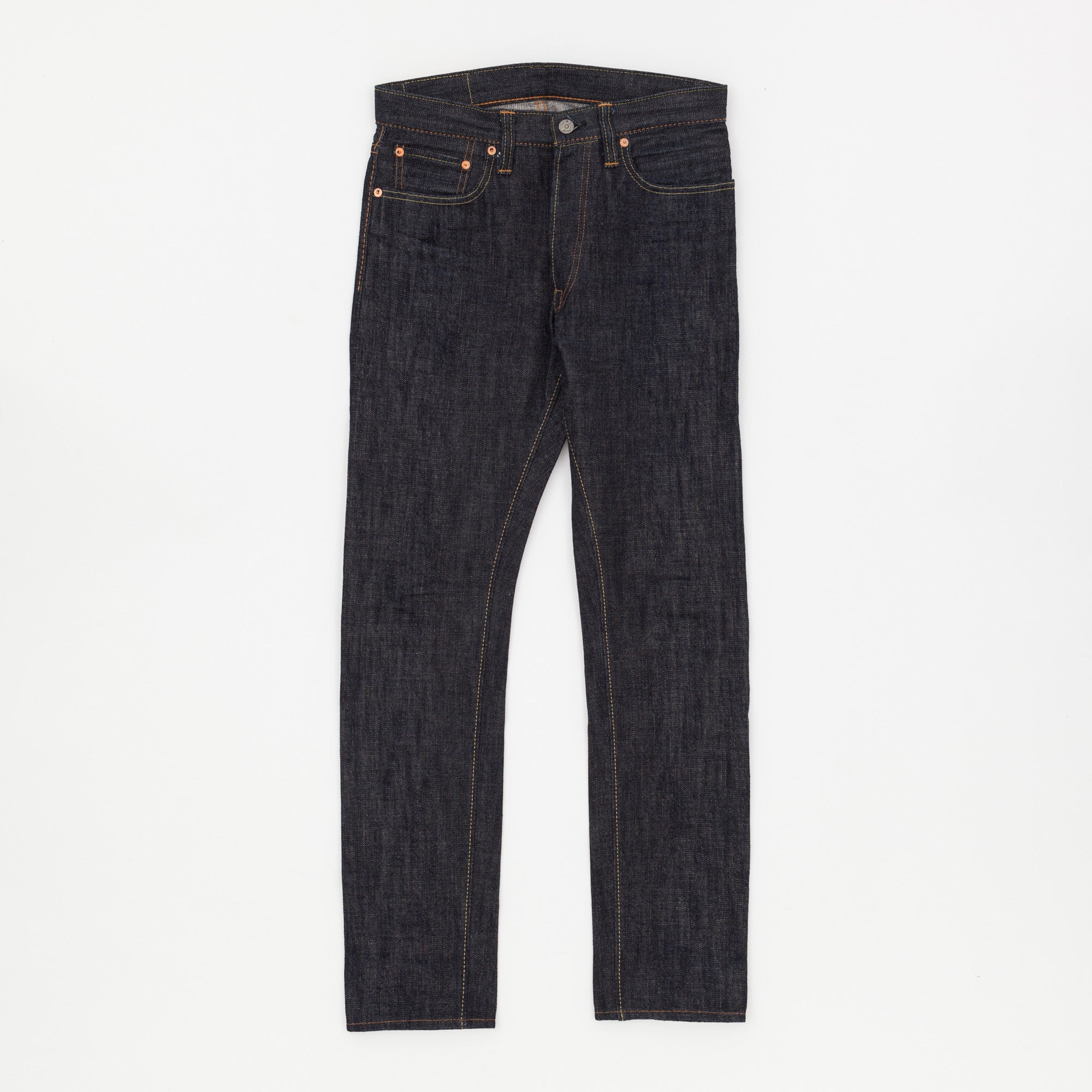 Pure Blue Japan Lot.019-XX 14oz Tapered Selvedge Denim