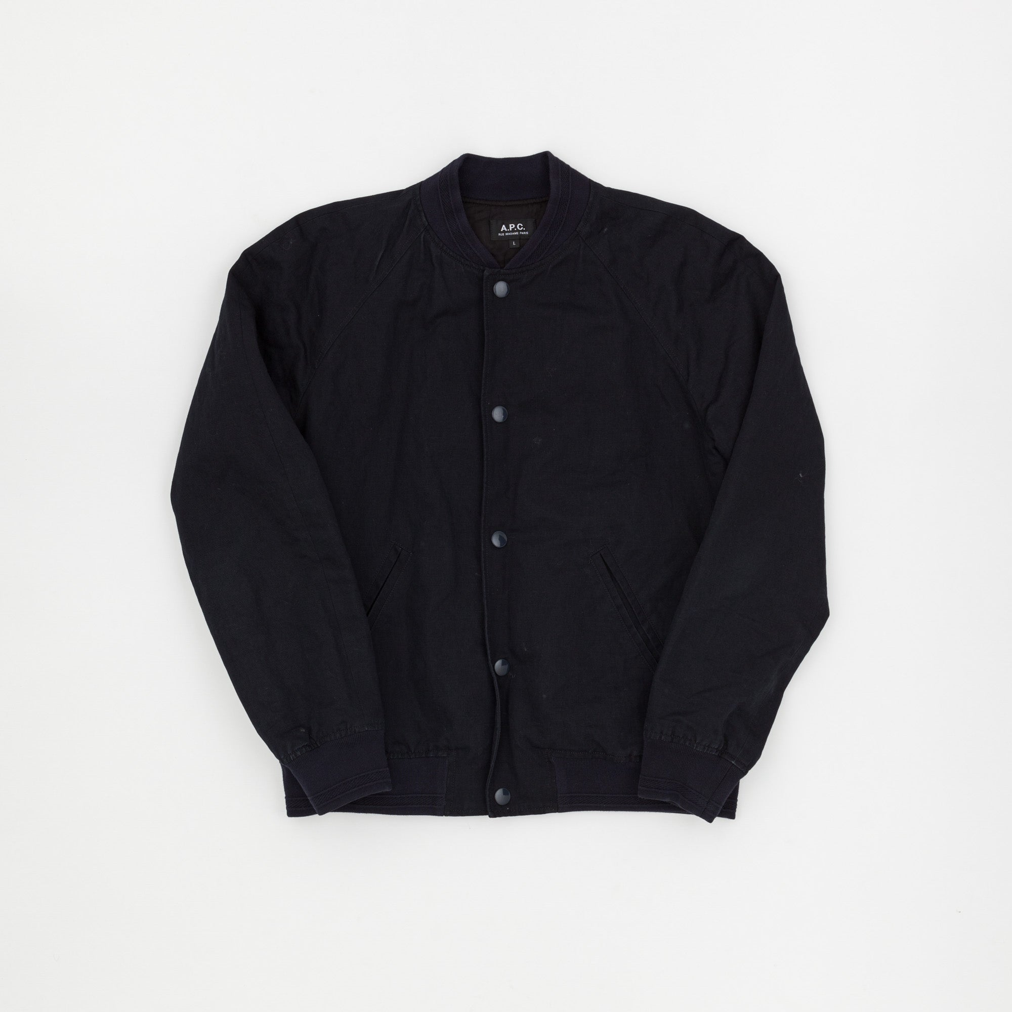 A.P.C Cotton Bomber Jacket