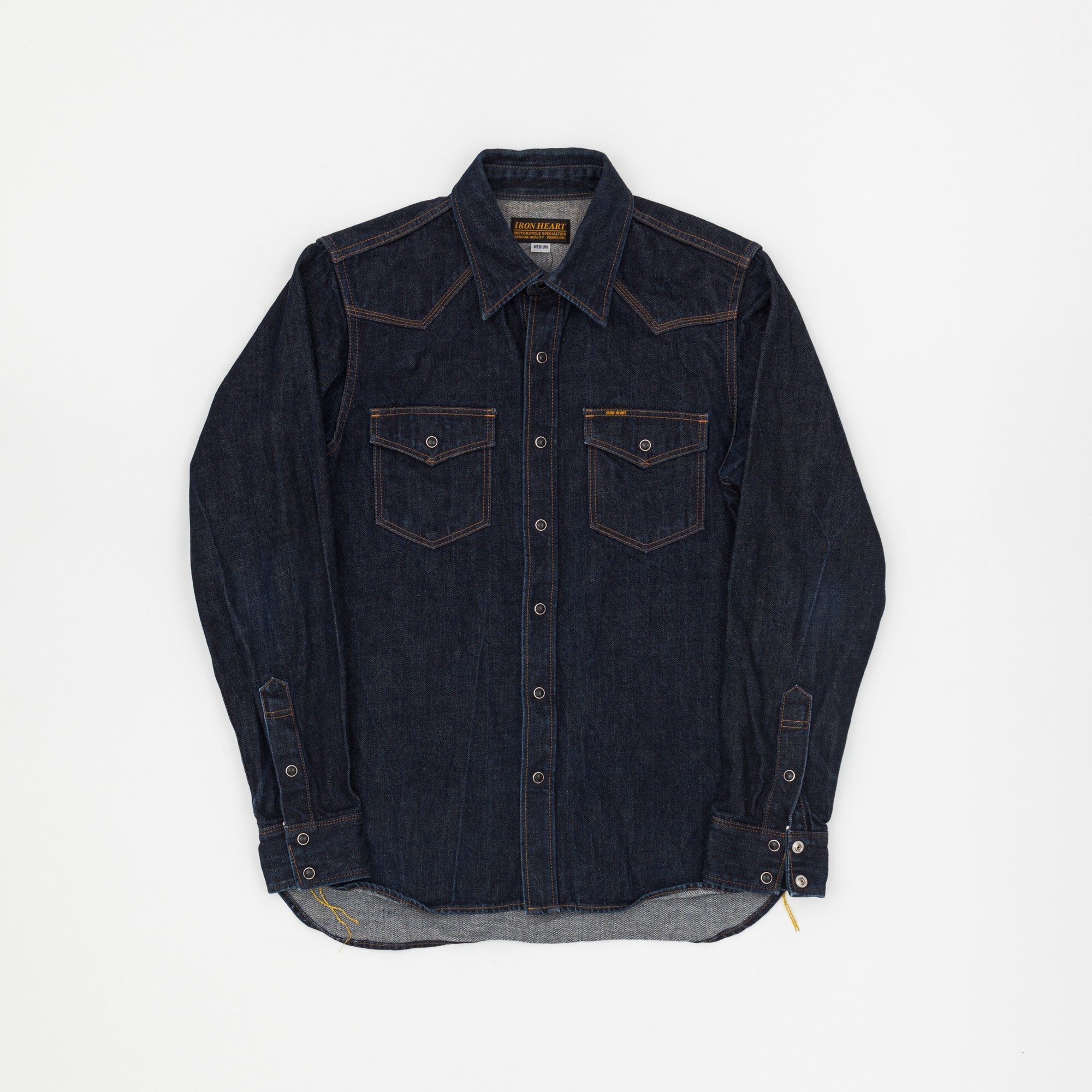 Iron Heart Denim Western Shirt