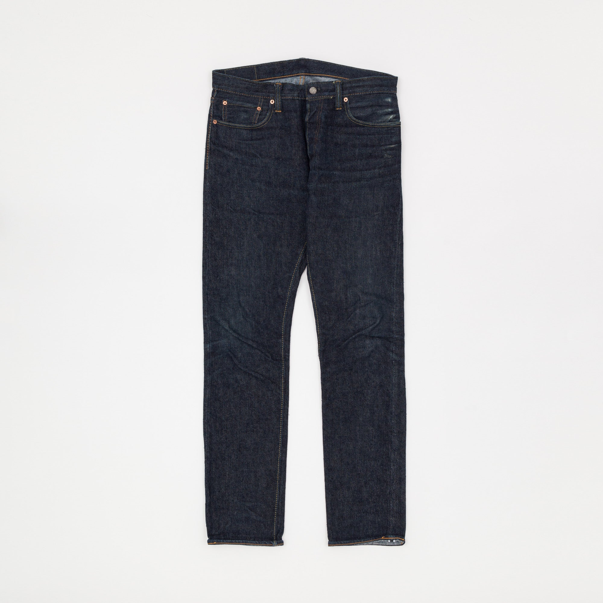 Pure Blue Japan 14oz X015 Slim Fit Selvedge Denim