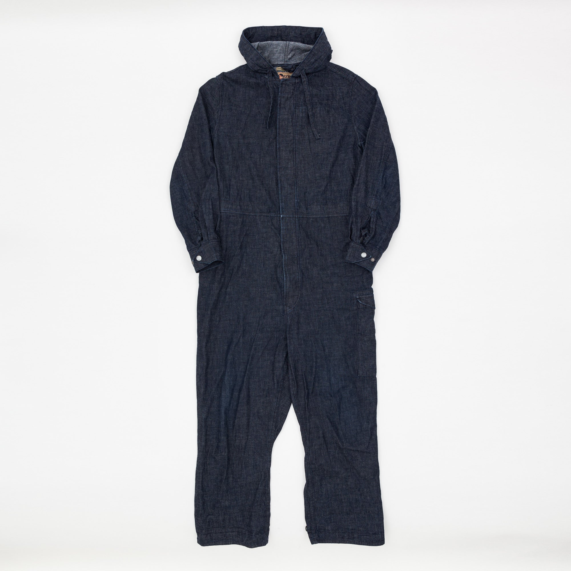 Lybro Japanese Denim Hooded Overalls