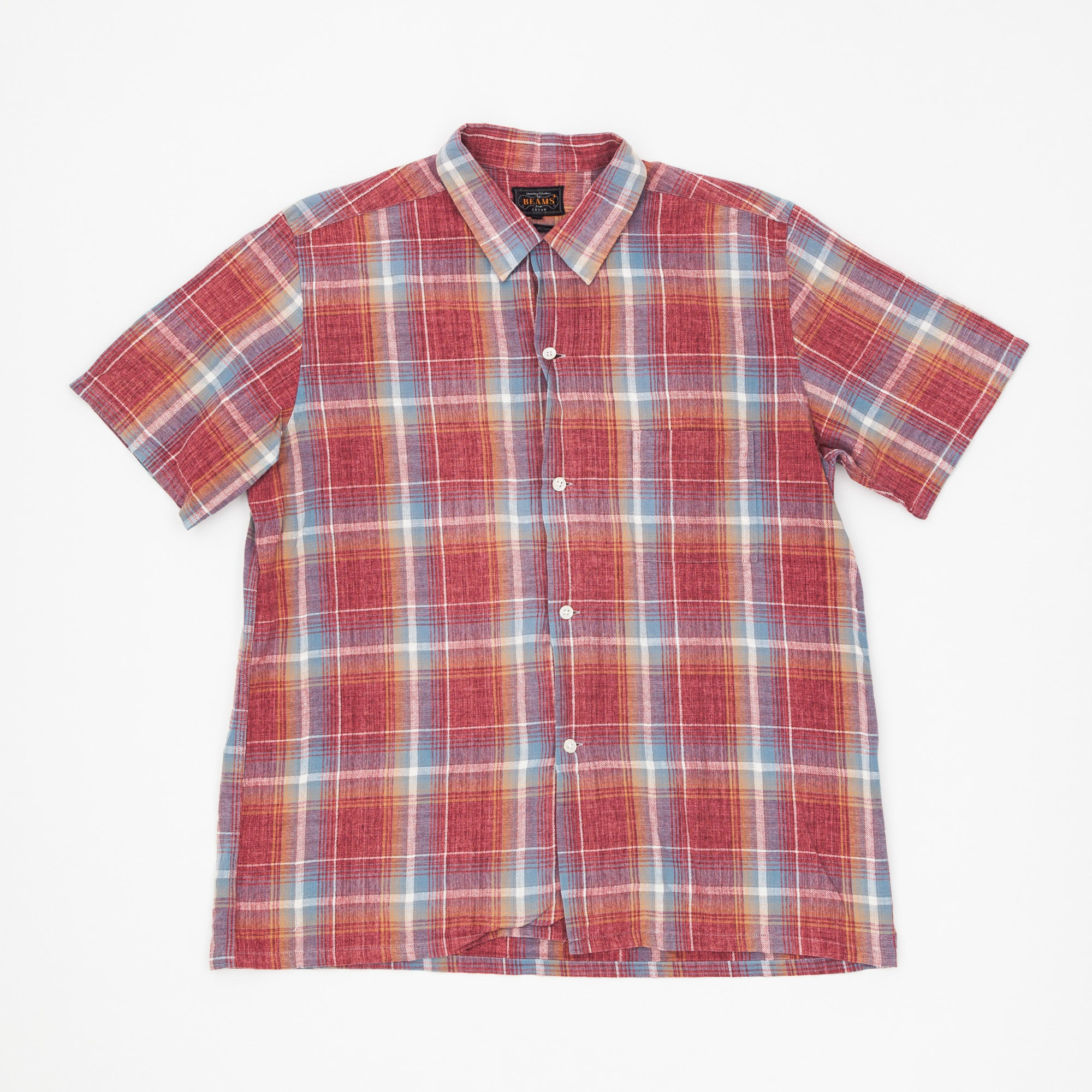 SS Checked Shirt