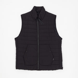 Padded Nylon Down Vest