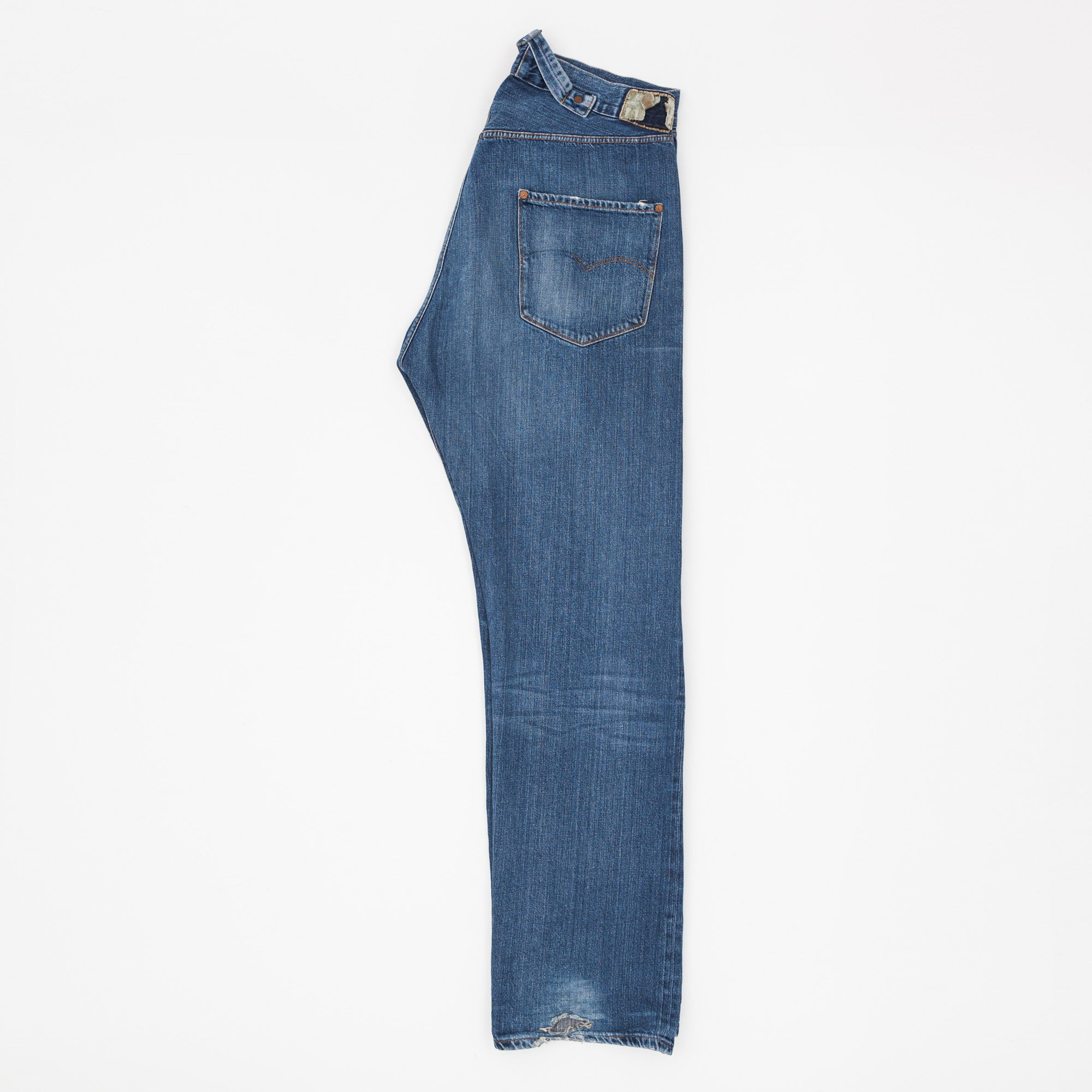 201 Cinch Back Denim Jeans
