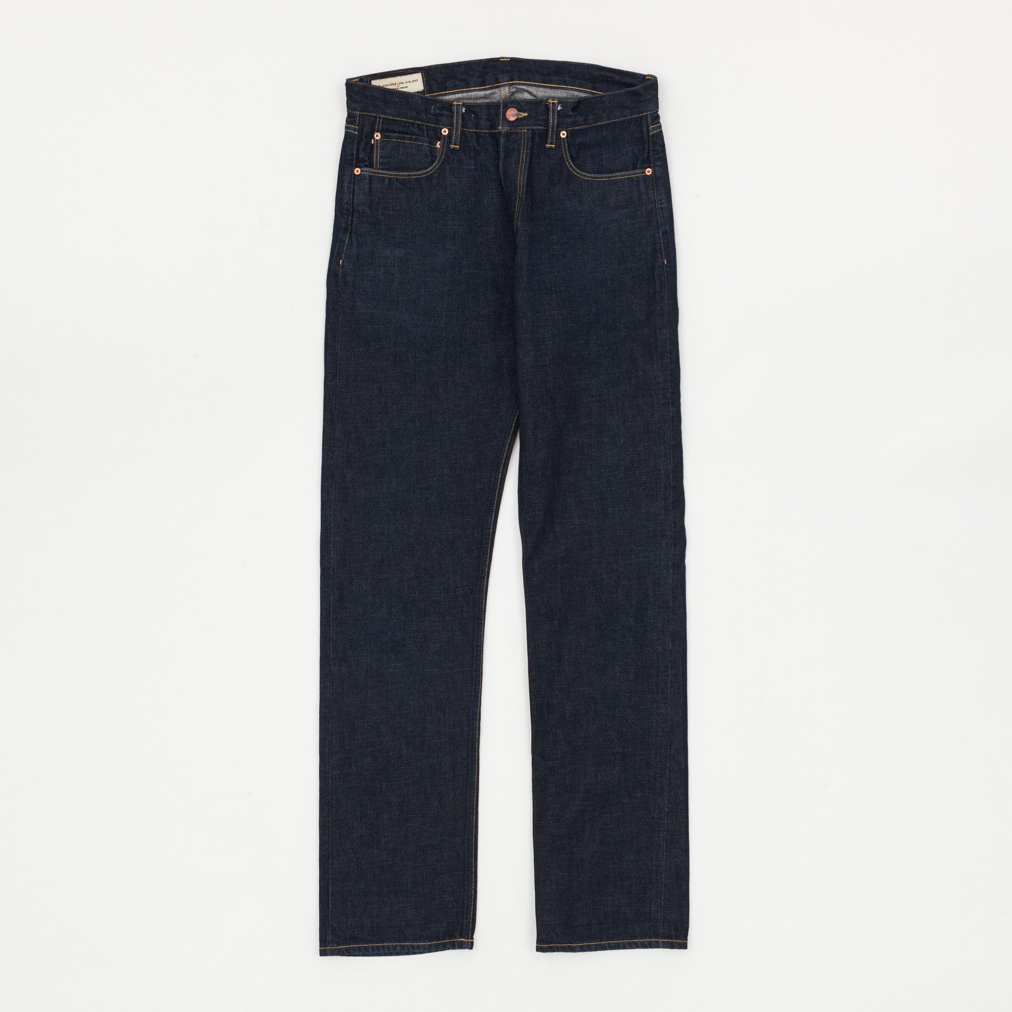 NW3 Slim Straight Selvedge Denim