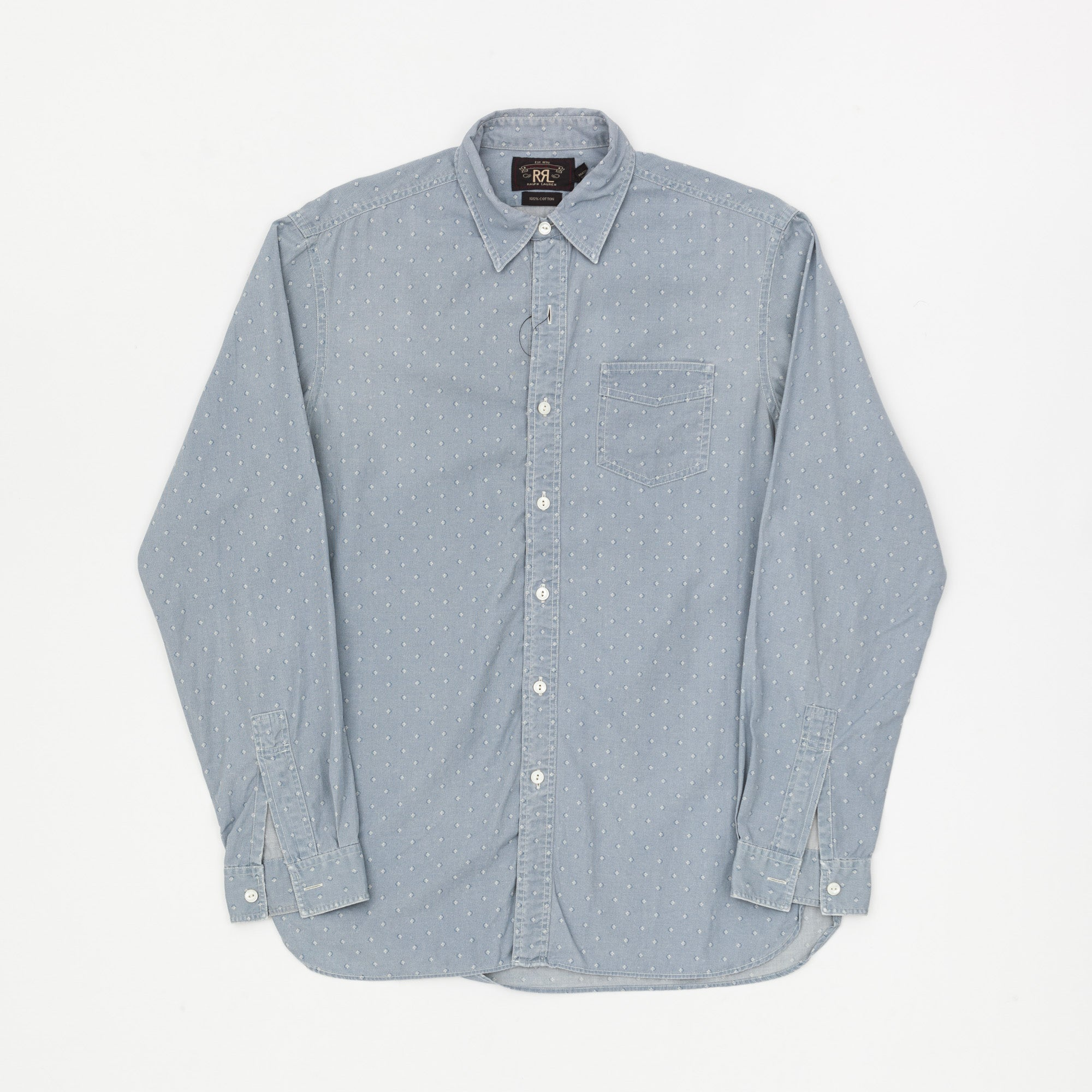 RRL Formal Dot Pattern Shirt