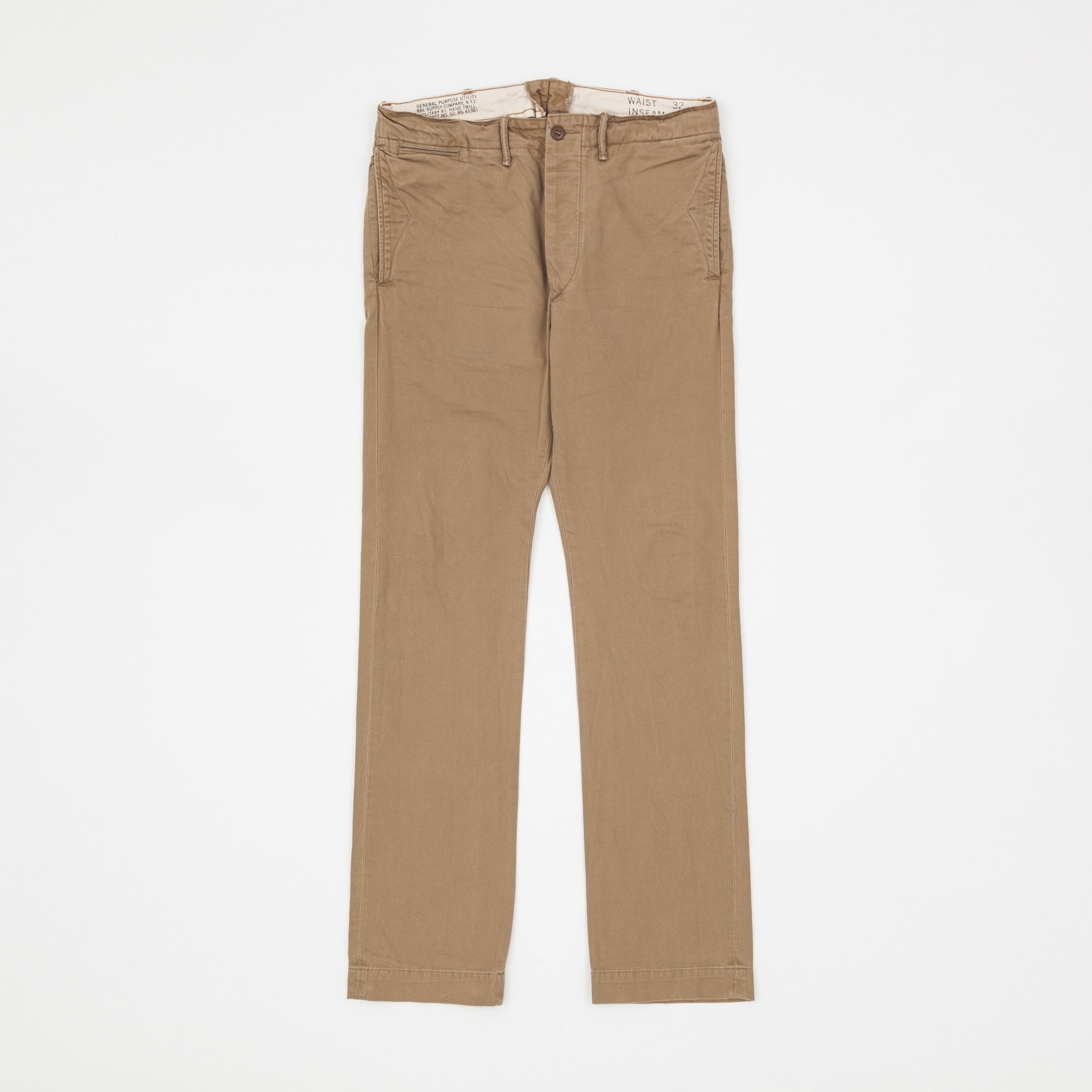 RRL Officer's Chino's