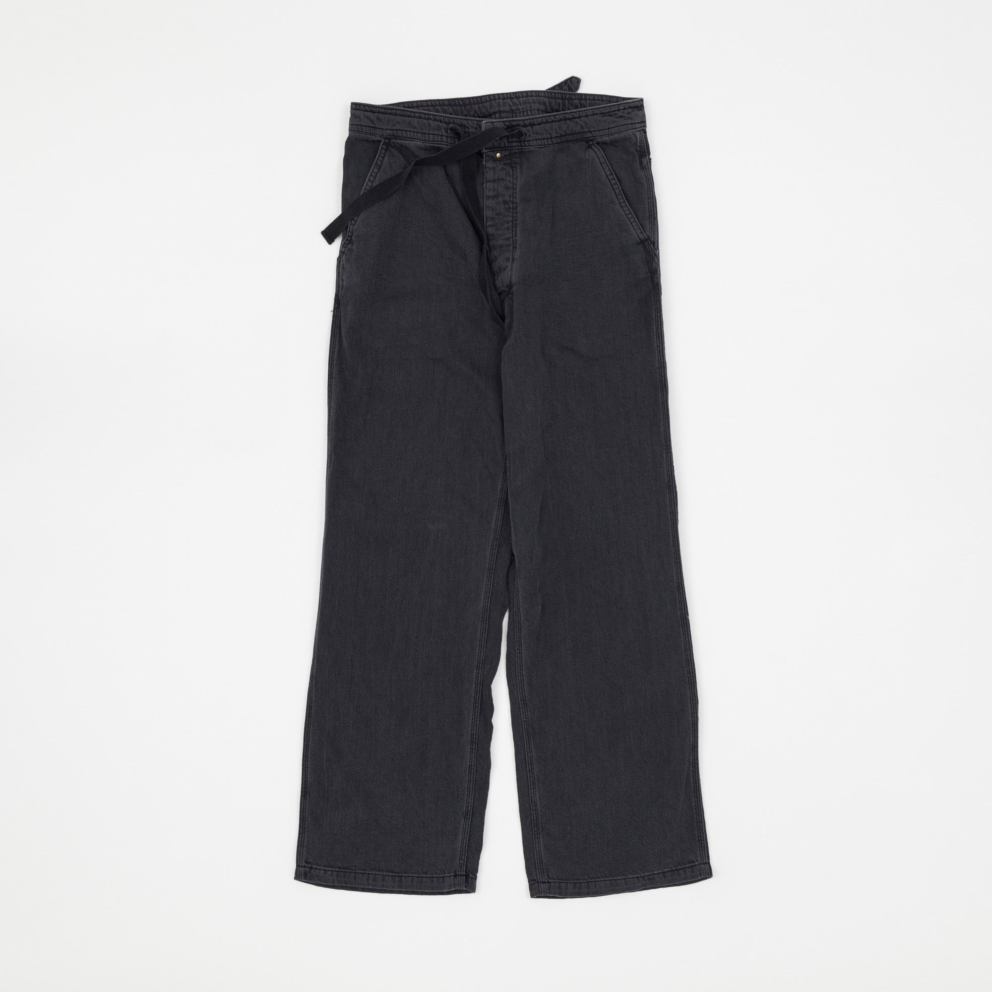 Needles Cinch Back Draw String Trousers