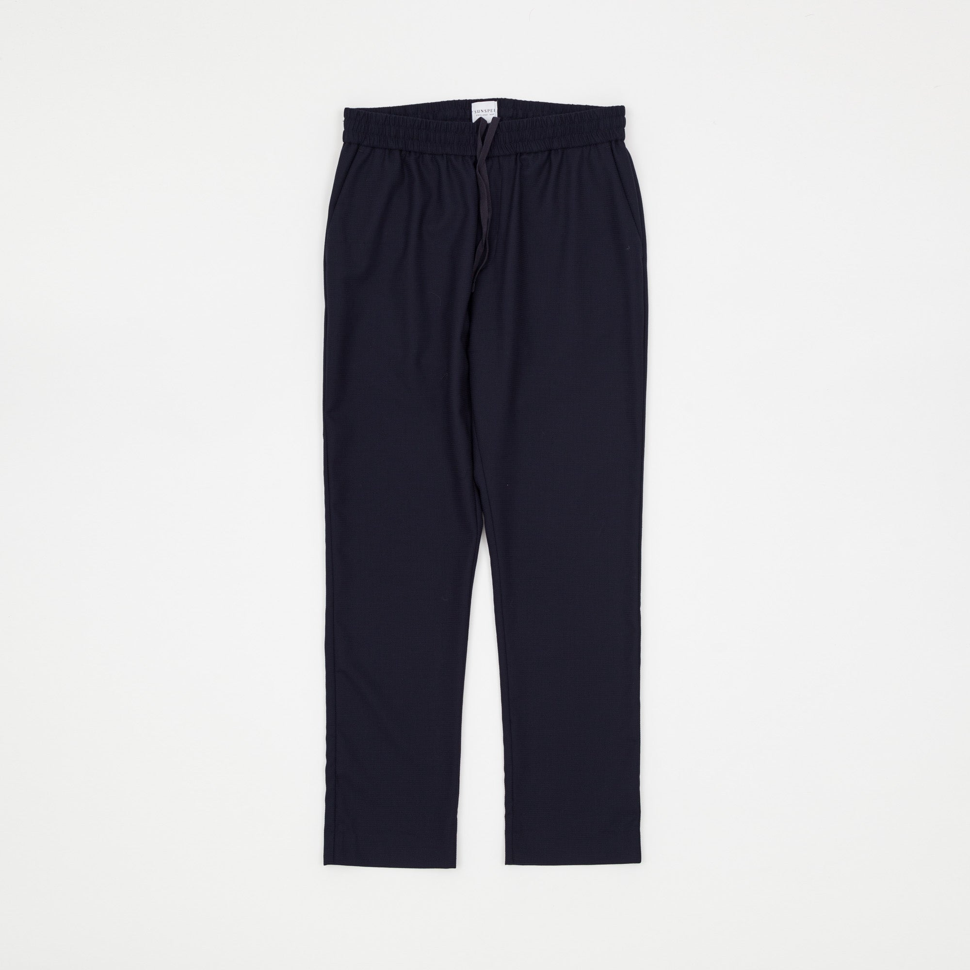 Travel Wool Drawstring Trousers