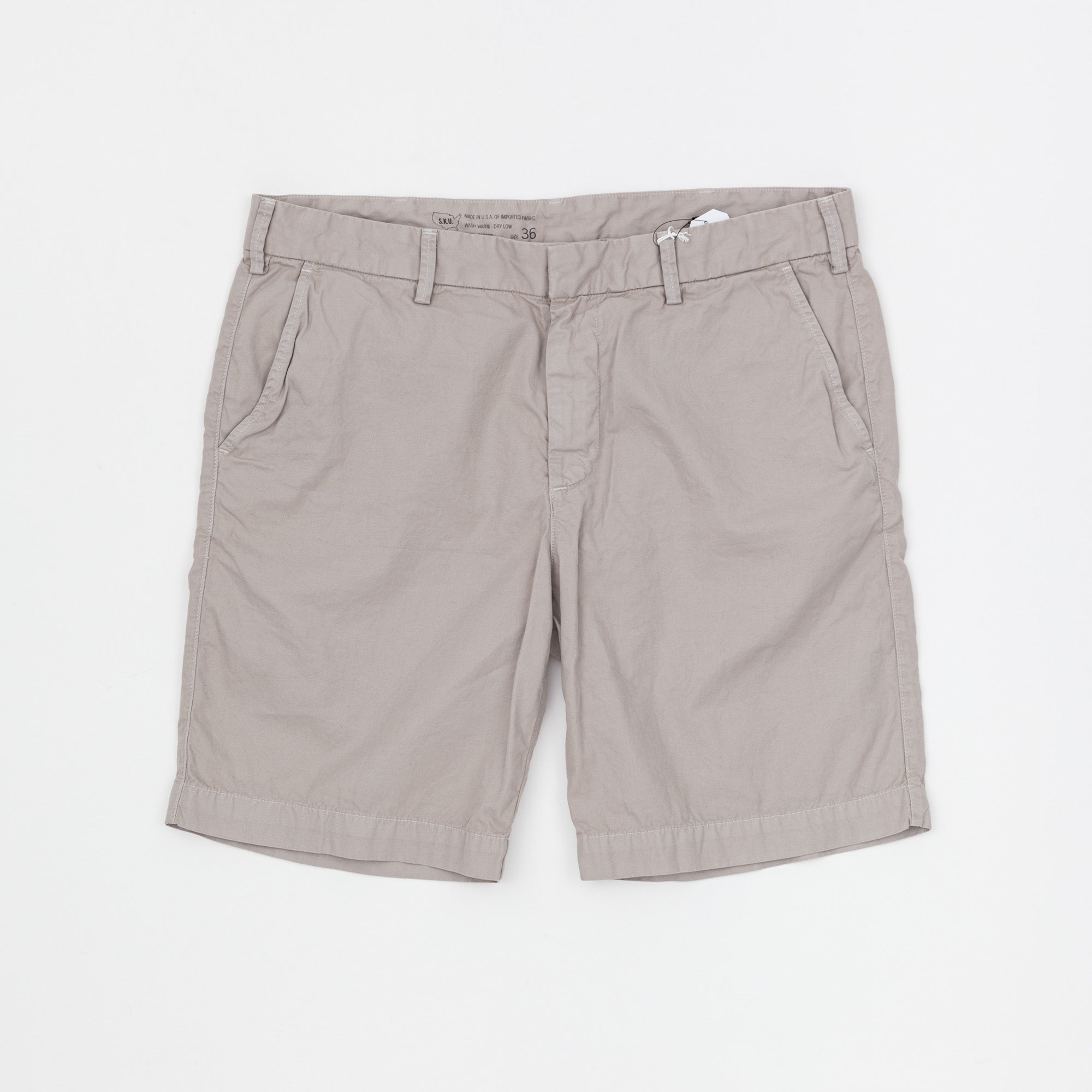 Light Twill Bermuda Shorts