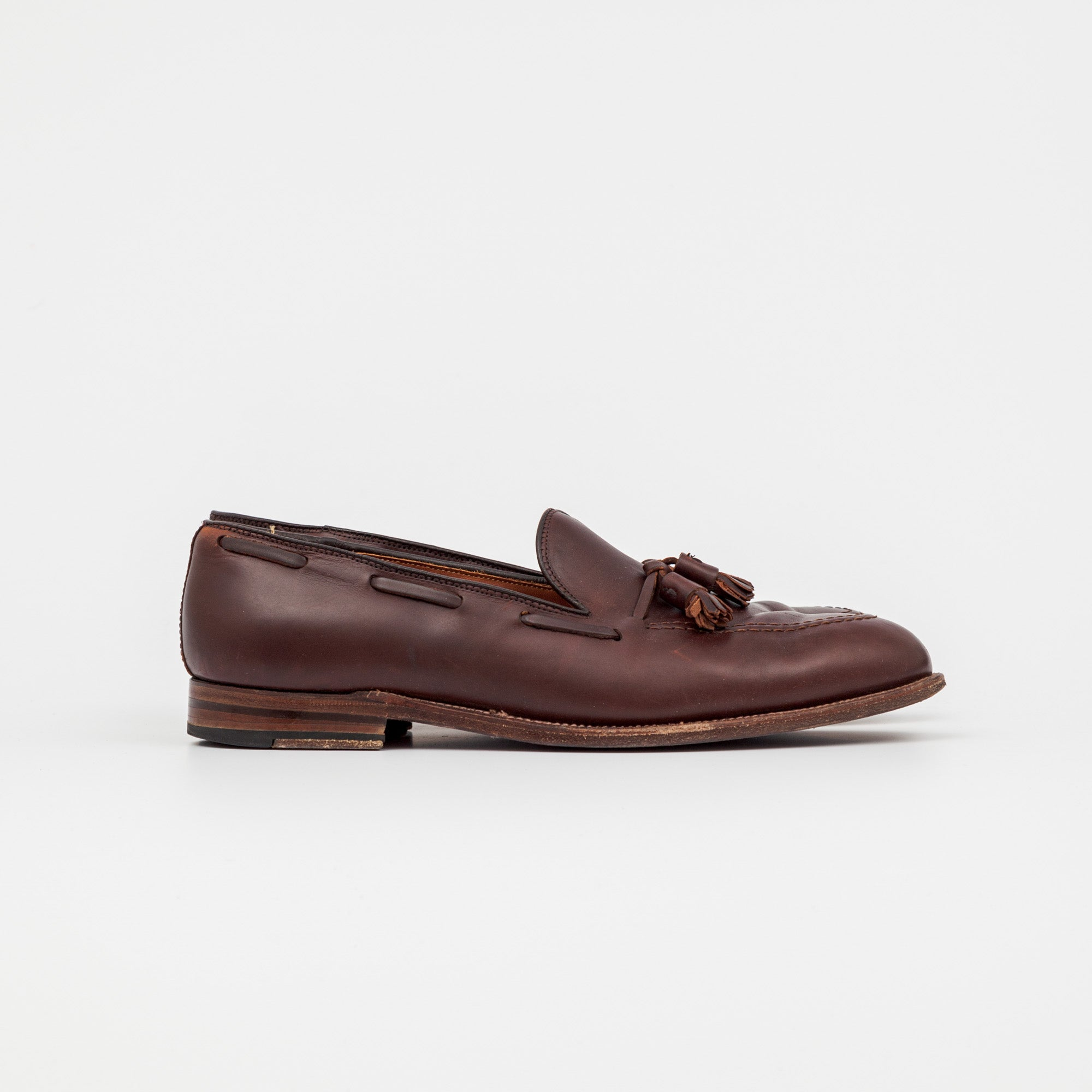 Alden x Frans Boone Chromexcel Tassel Loafers