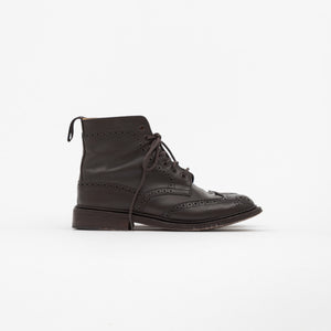 Espresso Stephy Brogue Boots