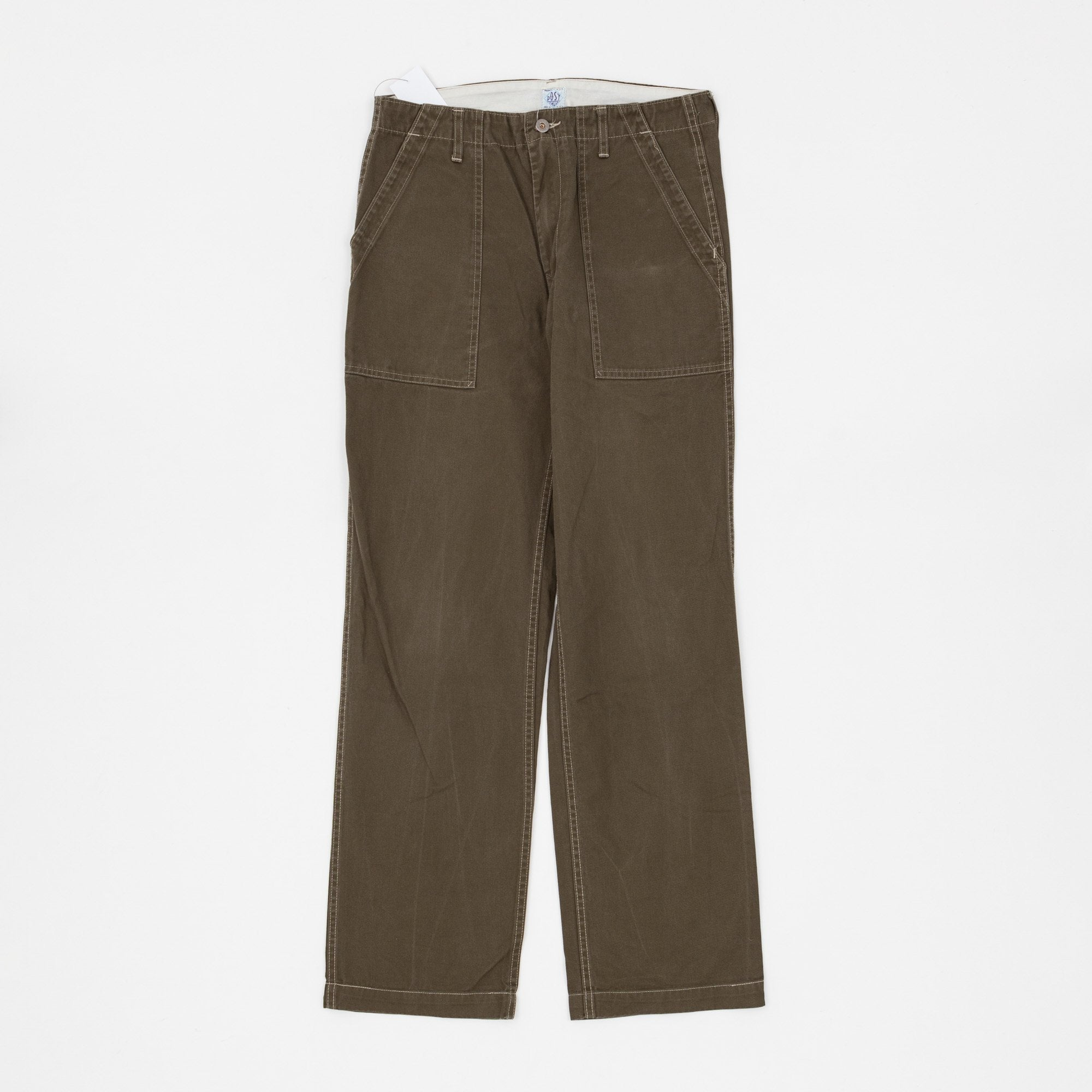 Post Overalls Cotton Fatigue Pant