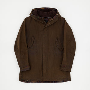 Barbour Dept (B) Mills Wax Parka