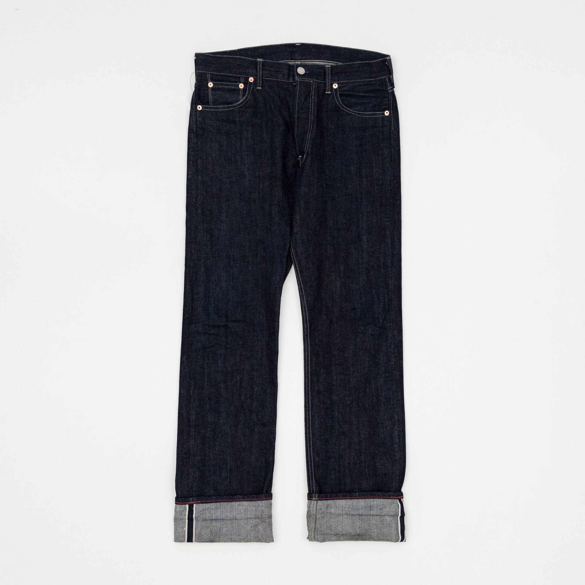 Dawson Denim 14.25oz DD01 Regular Fit Red Selvedge Denim