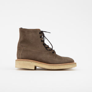 Tricker's Toe-Cap Suede Super Boot