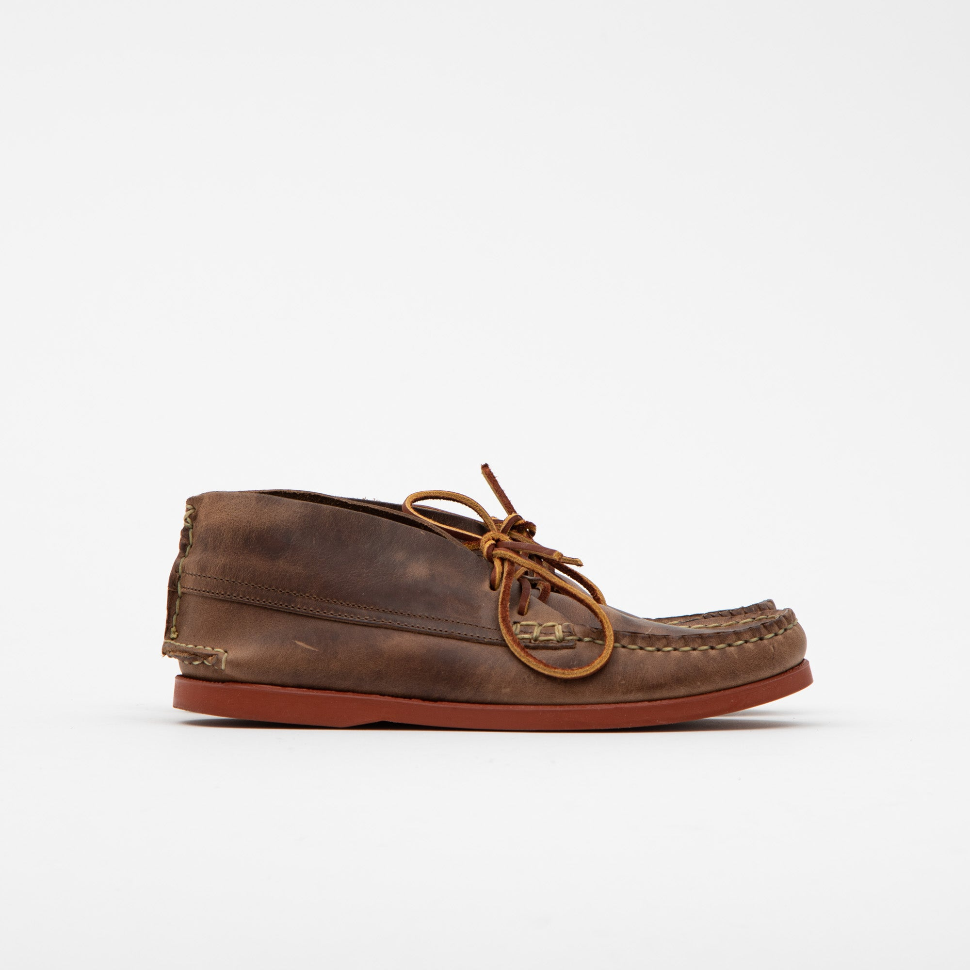 Yuketen Leather Chukka Shoes