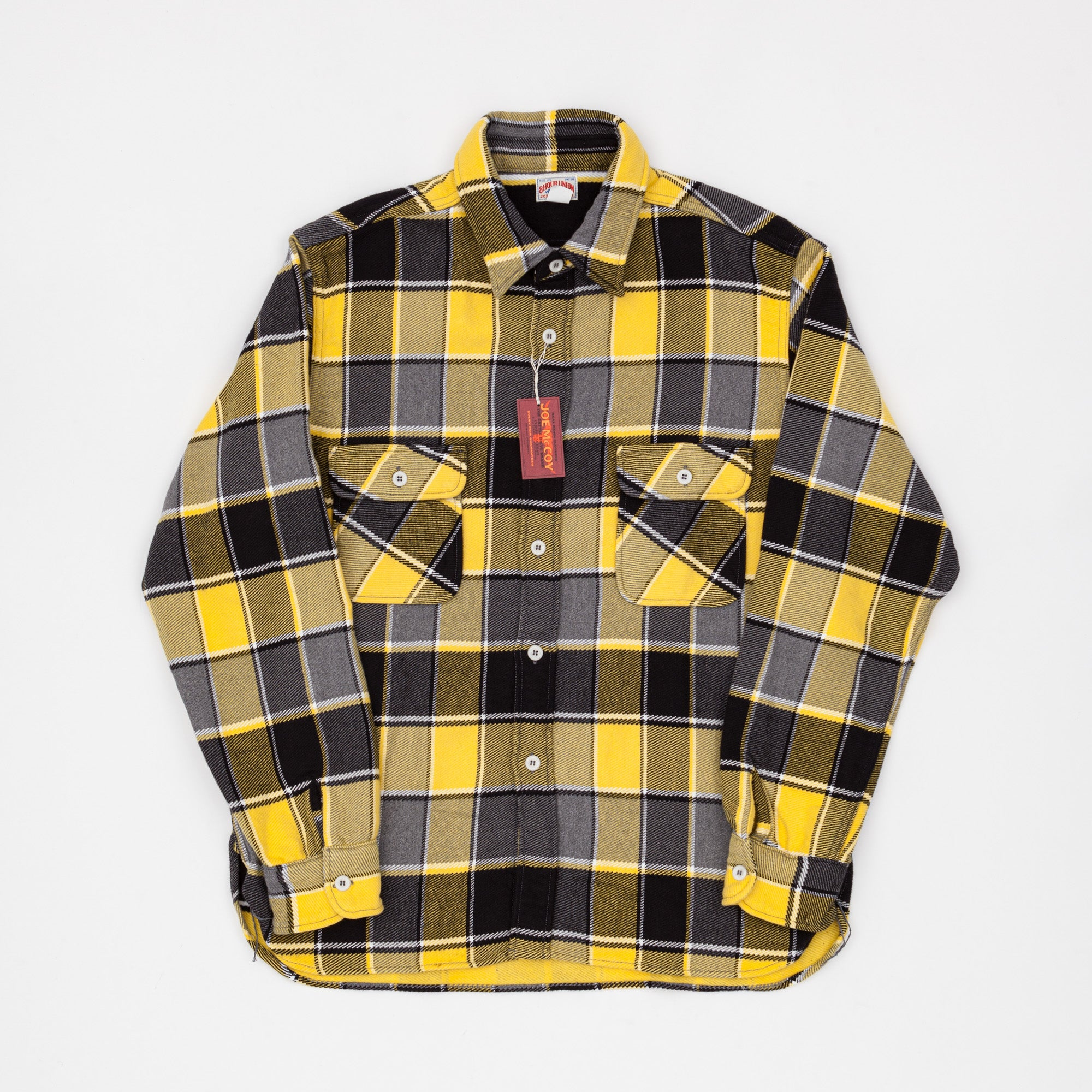 Joe McCoy 8HU Napped Flanel Shirt / Tongass Plaid