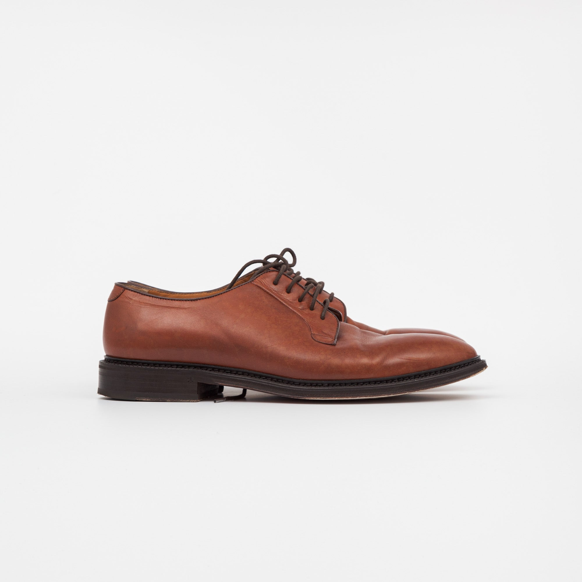 Sheffield Leather Derby Shoes