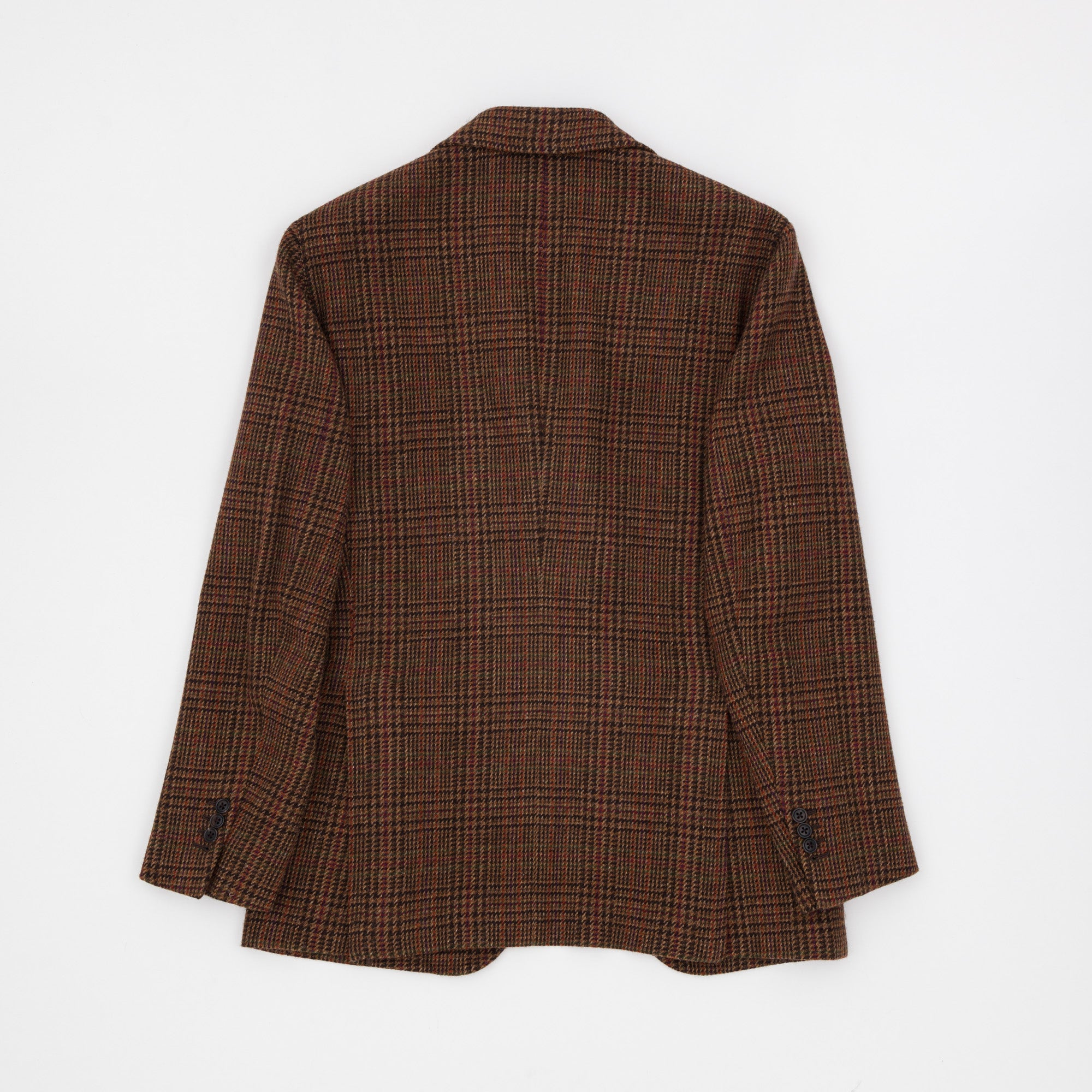 Glen Check Tweed Jacket