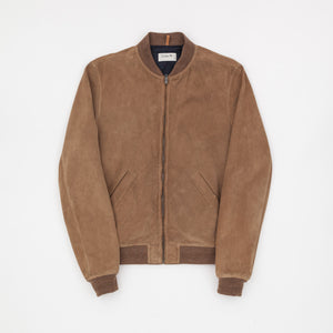 A.P.C x Louis W Suede Bomber Jacket