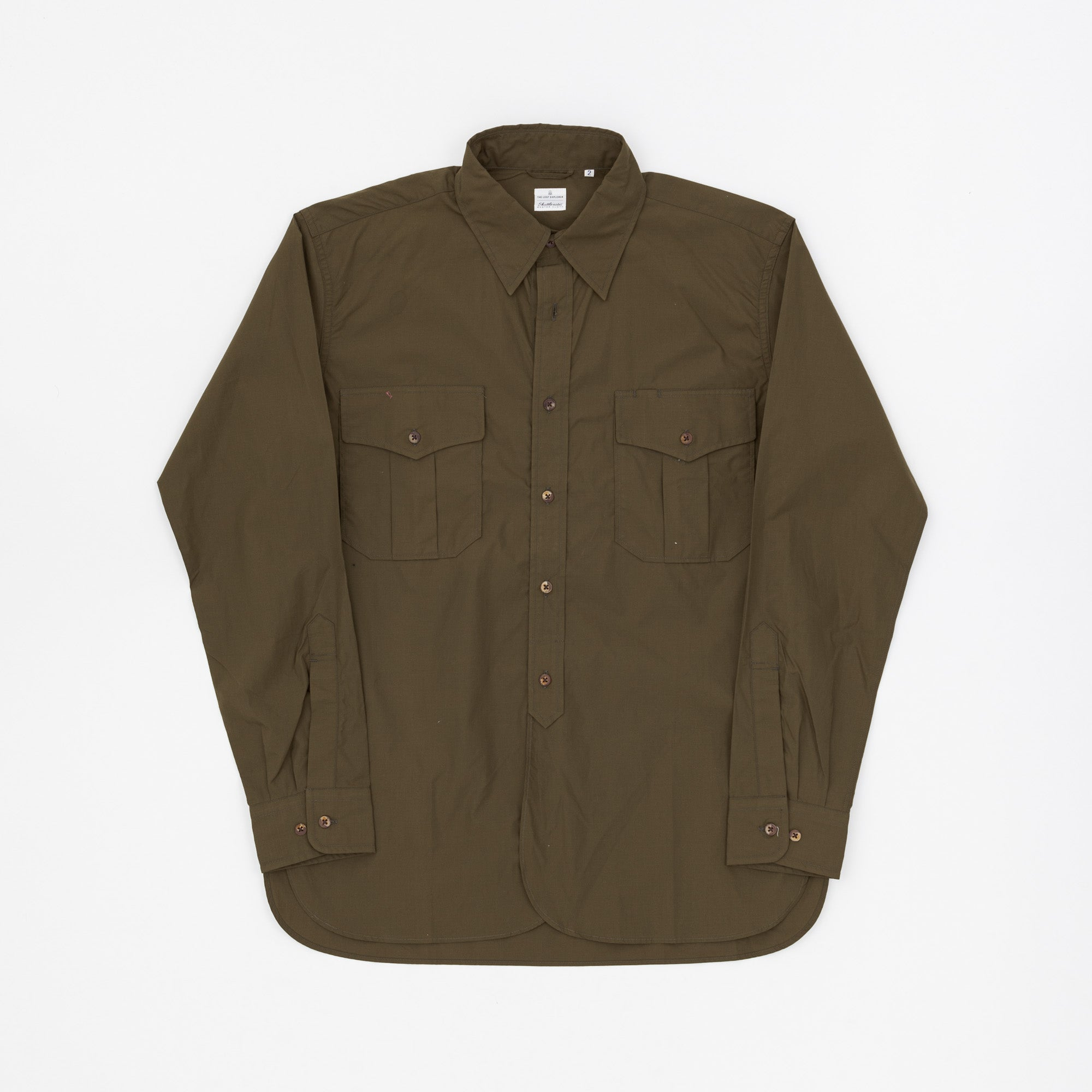 SHUTTLENOTE BUTTON DOWN SHIRT