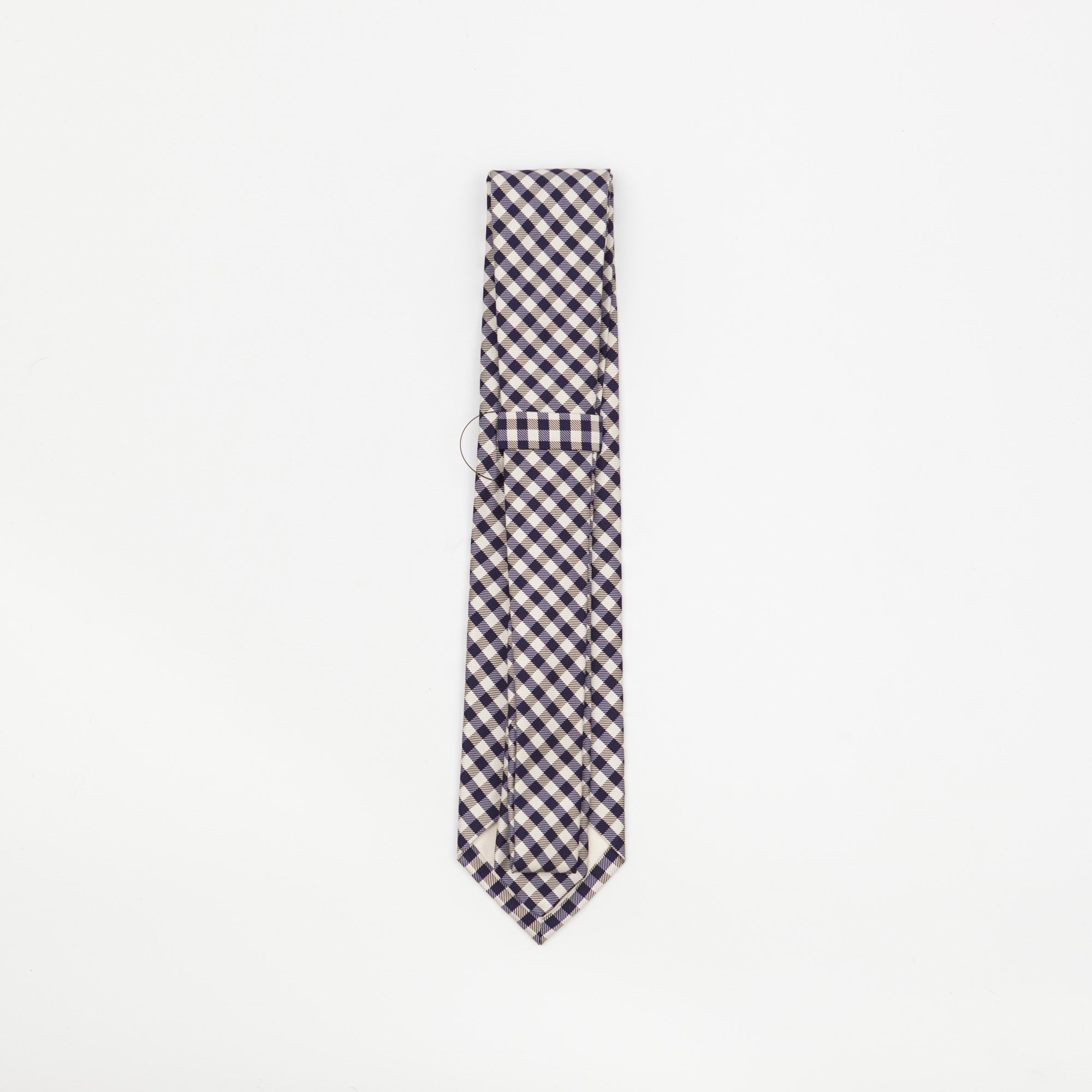 Gingham Checked Tie