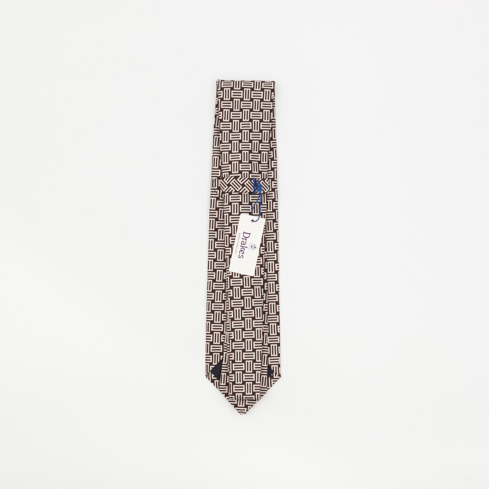 Rectangle Patterned Tie
