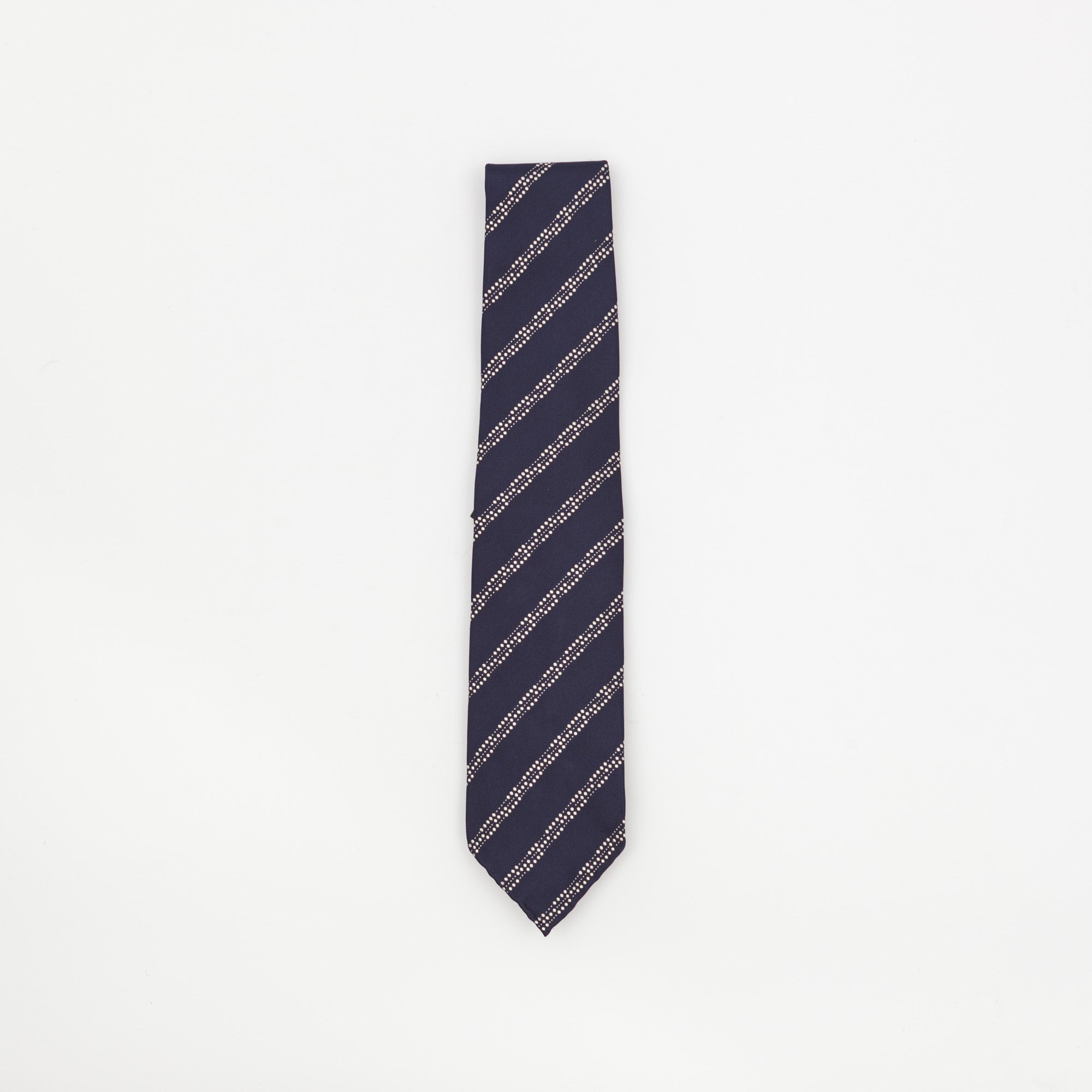 Dotted Stripped Pattern Tie