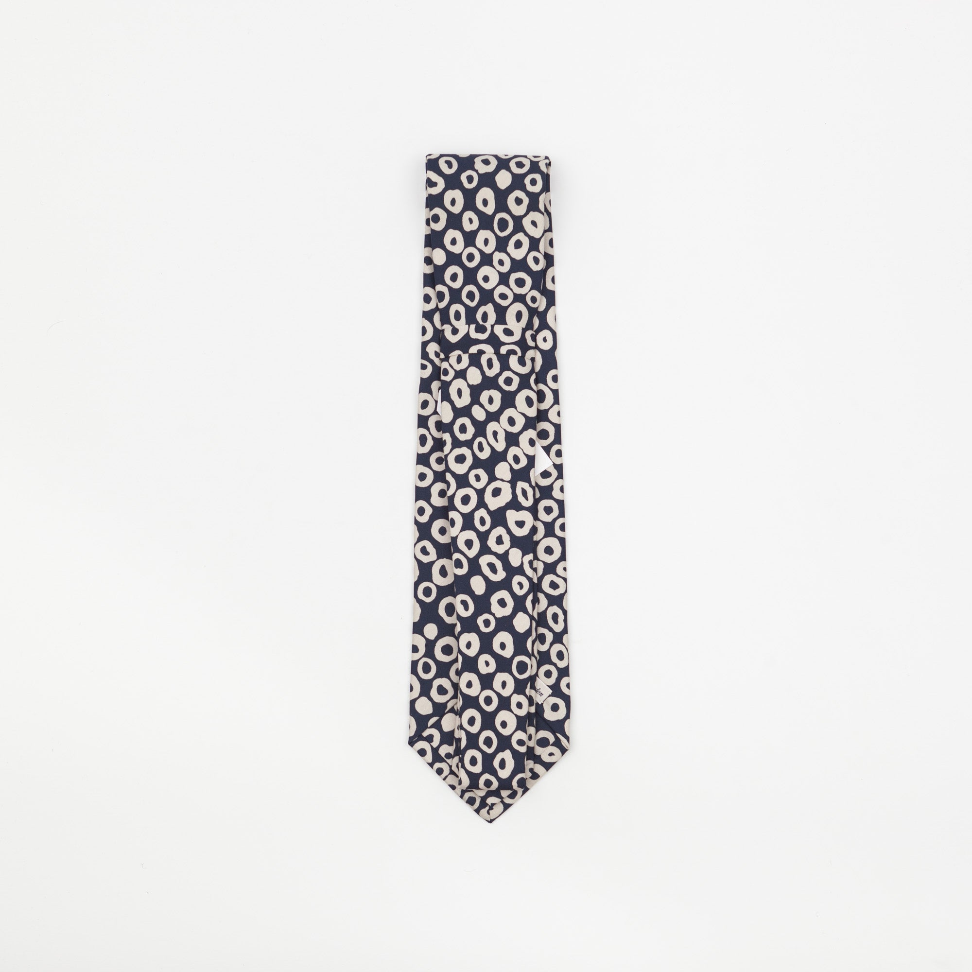 Painted Print Silk Tie