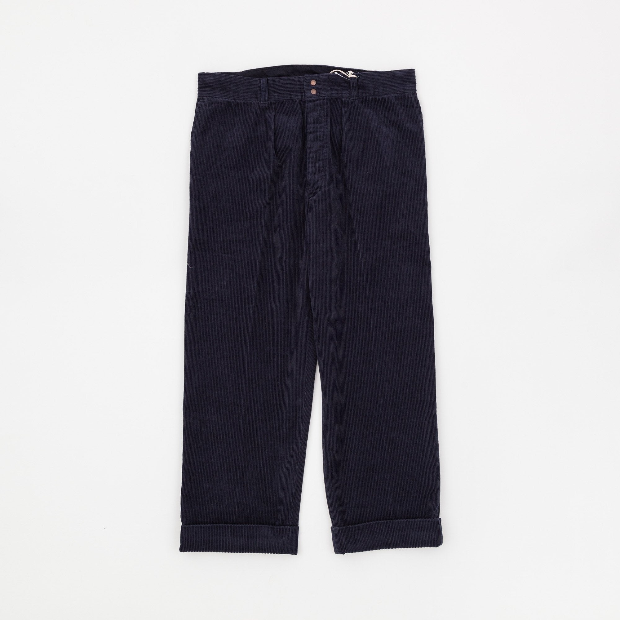 Fujito Corduroy Wide Slacks