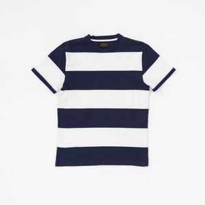Beams+ Cotton Stripe T-Shirt