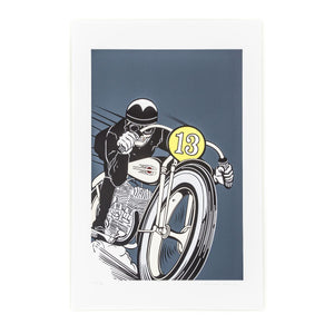 Conrad Leach Lucky 13 Limited Edition Print