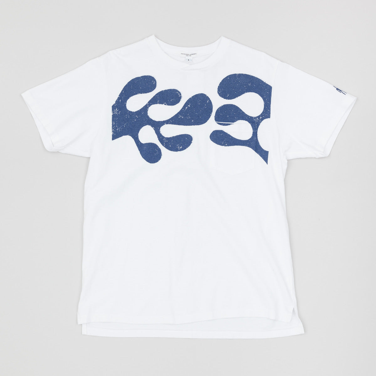 Engineered Garments Printed Cross Crew Neck T-Shirt