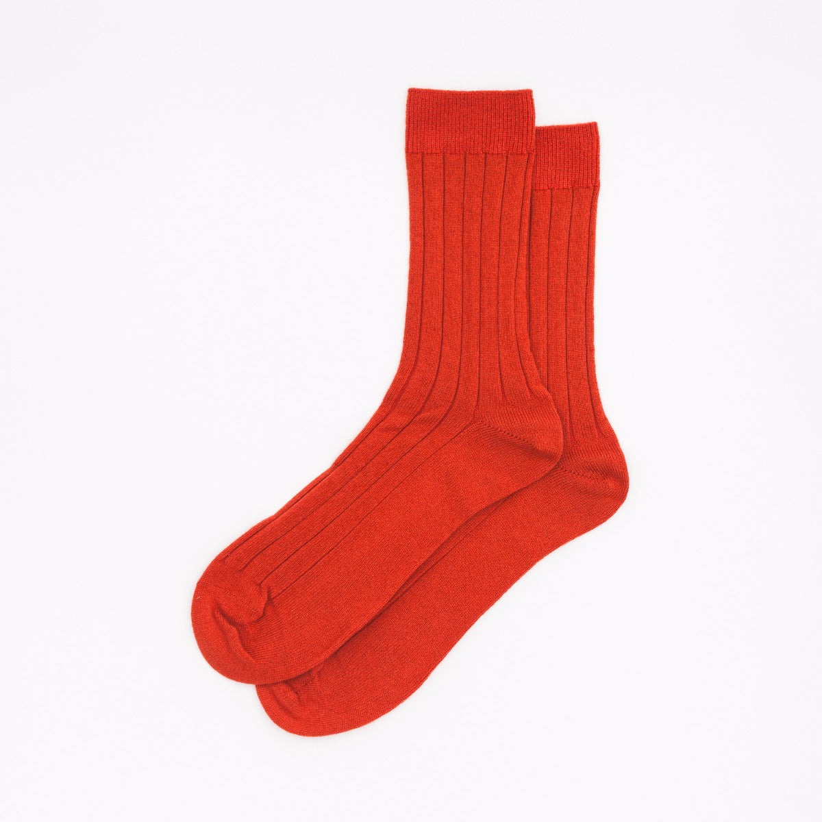 Ribbed Sock - Amaranth