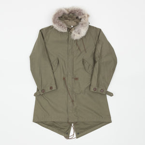 The Real McCoy's 1951 Coyote Fur Parka