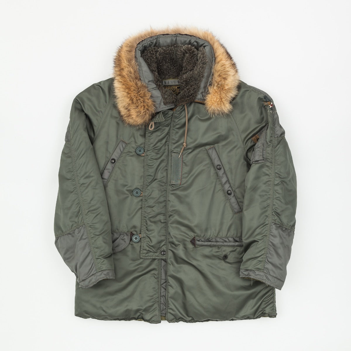 The Real McCoy's Albert Turner N-3B Parka