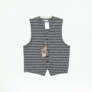 Engineered Garments Patterned Knit Waistcoat