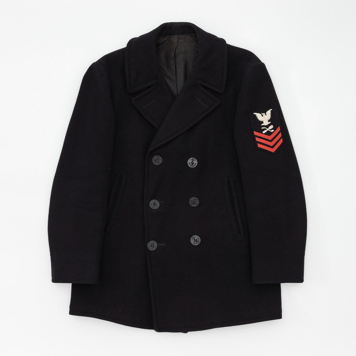 Vintage 1950s US Navy Pea Coat