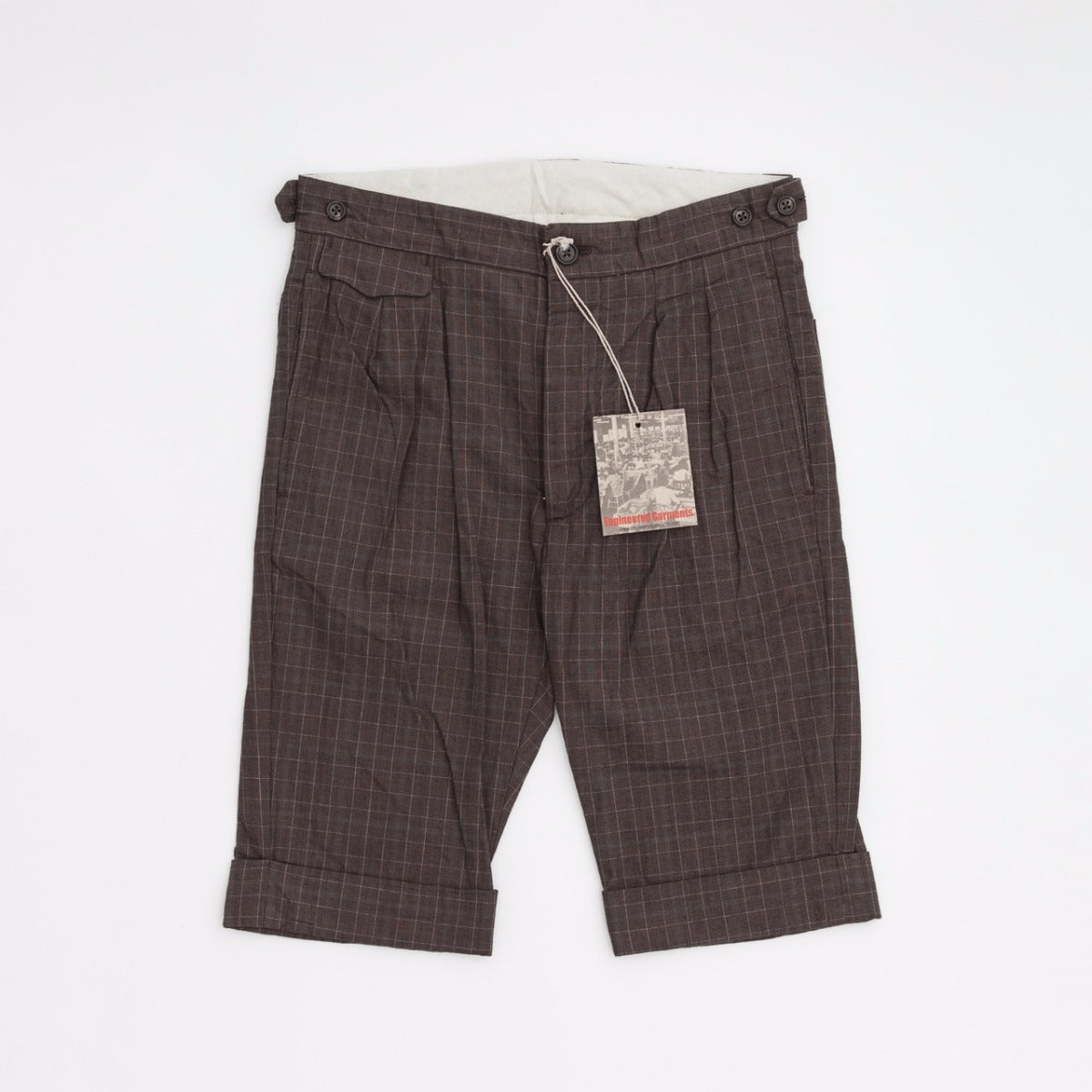 Engineered Garments Truman Shorts / HB Windowpane
