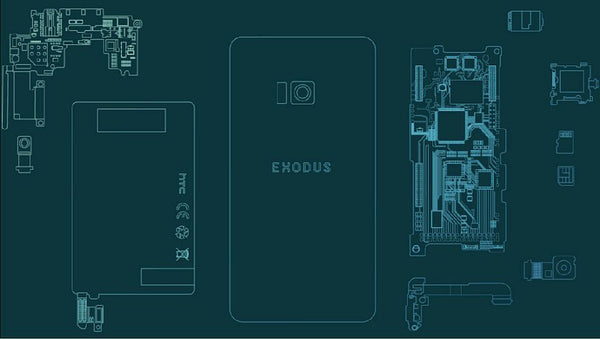 HTC Exodus Blockchain Phone