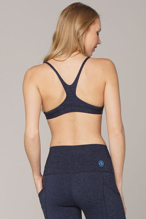 The Conscious Bra - Navy Blue Heather